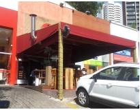 coberturas retráteis em lona no Ibirapuera