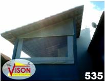 cortina rolô tela solar