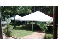 locação de cobertura para festas e eventos no Campo Grande