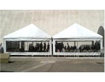 locação de coberturas e tendas serviços na Água Chata