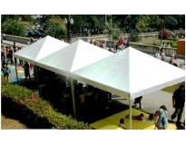 locação de coberturas e tendas na Vila Galvão