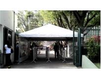 serviço de locação de tendas