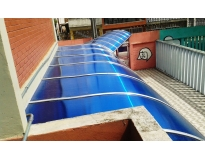 onde encontrar instalação de cobertura em policarbonato em Embu das Artes
