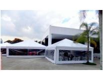 quanto custa tenda piramidal fechada na Vila Romana