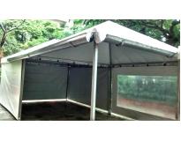 quanto custa tendas piramidais com calha no Parque São Jorge