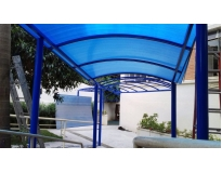 serviços de empresa de cobertura de policarbonato em Santo André