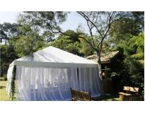 tenda piramidal em Diadema