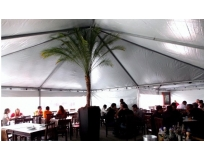 tendas e cobertura para eventos na Água Branca