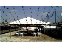 tendas piramidais em sp na Vila Romana