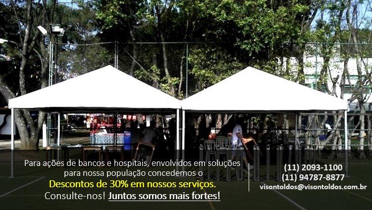 Vison Tendas e Toldos - Aluguel de Tendas