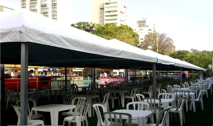 Locação de Cobertura para Festas em São Caetano do Sul - Locação de Coberturas