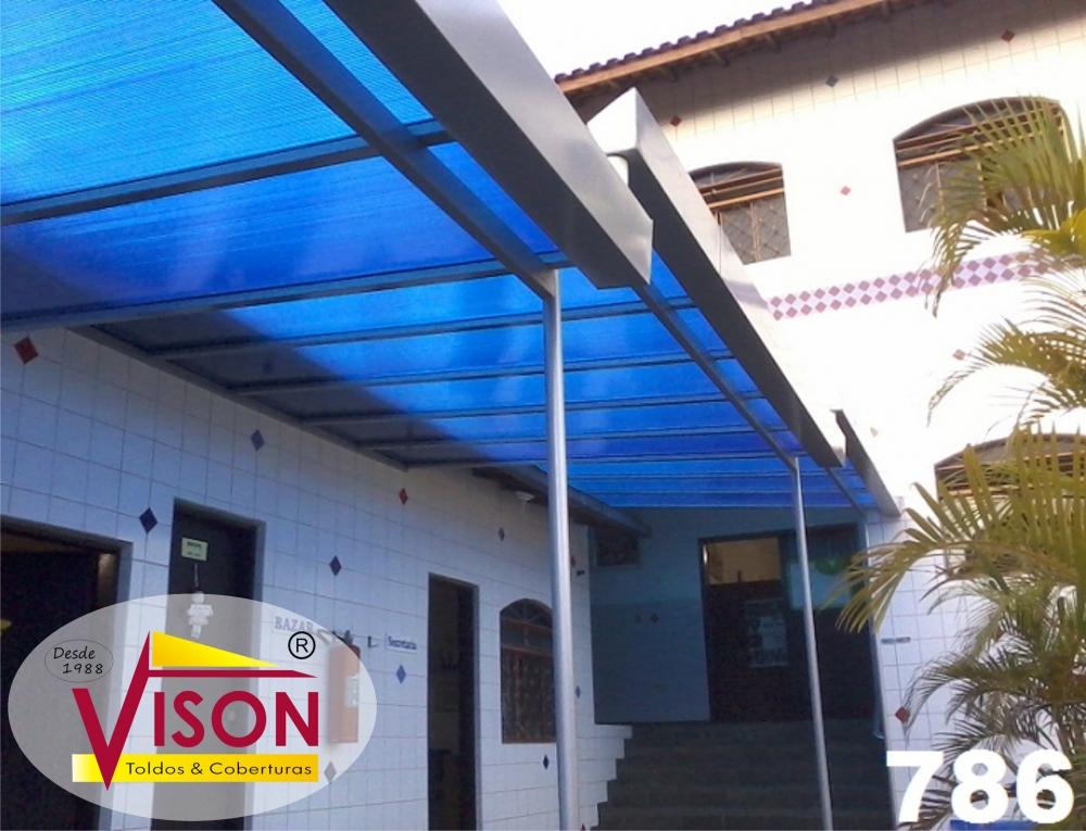 Onde Encontrar Empresa de Cobertura de Policarbonato na Vila Formosa - Empresa Especializada em Coberturas