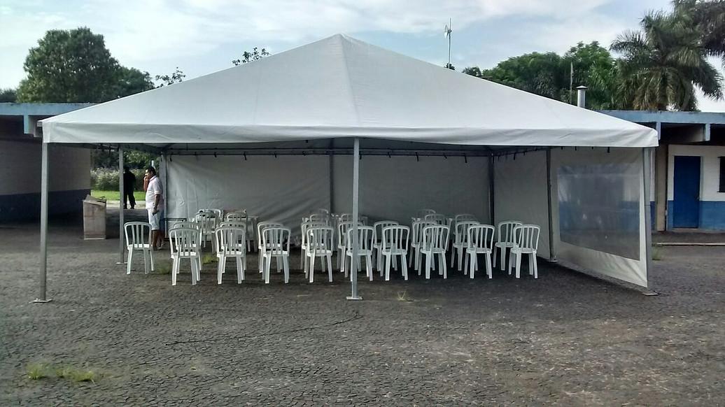 Onde Encontrar Tenda Piramidal para Alugar em Santo André - Tenda Piramidal para Comprar