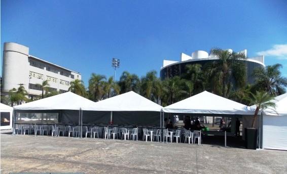 Quanto Custa Aluguel de Tenda Piramidal Bosque Maia Guarulhos - Tenda Piramidal para Comprar