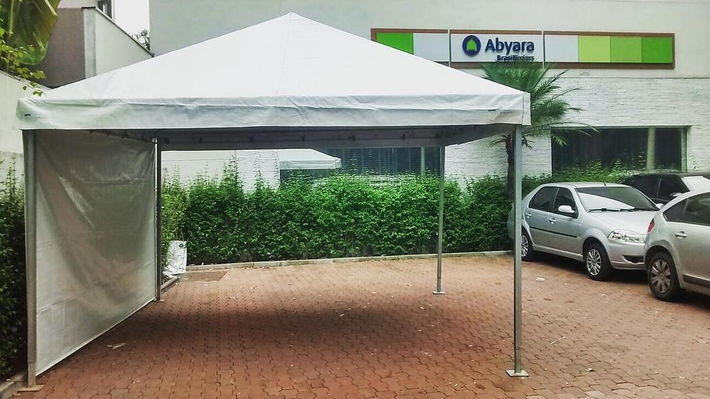 Tenda Piramidal em São Paulo Serviços na Vila Mazzei - Locação de Tenda Piramidal