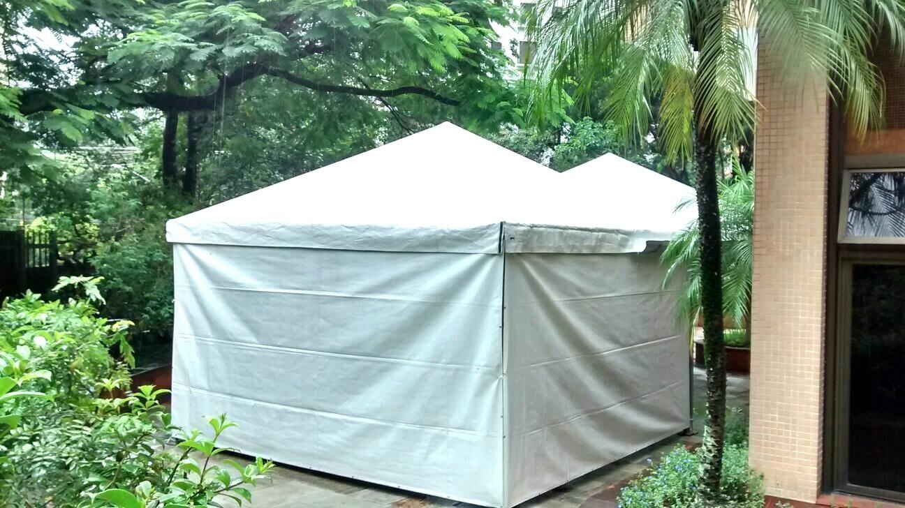 Tenda Piramidal Fechada em Guararema - Tenda Pirâmide