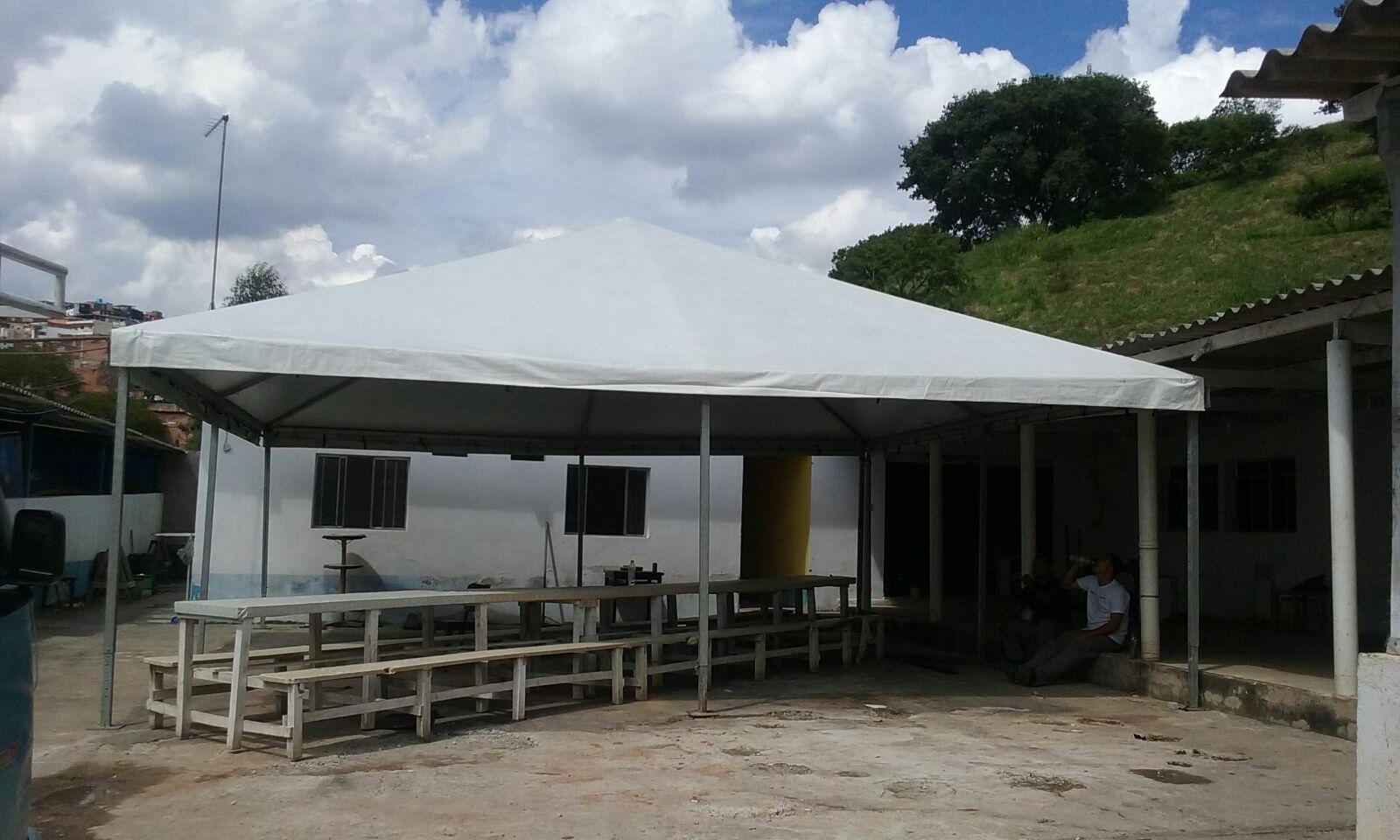 Tenda Piramidal para Comprar Serviços em Carapicuíba - Locação de Tenda Piramidal