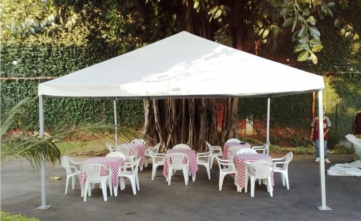 Tenda Piramidal para Comprar no Alto de Pinheiros - Locação de Tenda Piramidal