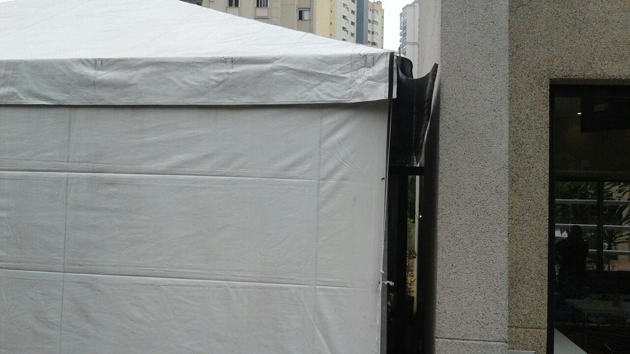 Tendas Piramidais com Calha Serviços no Morro do Macaco - Tenda Piramidal para Alugar
