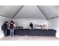 alugar tenda para eventos na Taboão