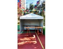 aluguel de coberturas de lona no Parque dos carmargos
