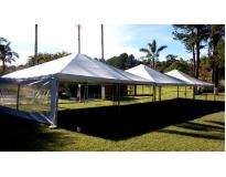 aluguel de tenda para casamento serviços em Carapicuíba