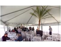 aluguel de tenda para evento na Vila Maria