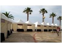 aluguel de tenda para eventos em Itaquera