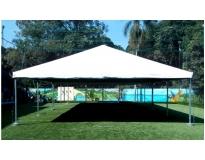 aluguel de tenda piramidal serviços na São Roque