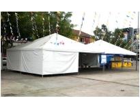 aluguel de tenda piramidal no Tremembé