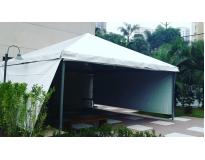 aluguel de tendas e toldos no Jardim Belval