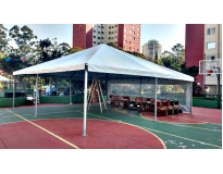 aluguel de tendas em sp serviços no Parque do Carmo