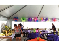aluguel de tendas para eventos no Parque do Carmo