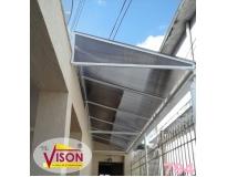 cobertura de policarbonato para escada serviços em Raposo Tavares