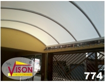 cobertura em policarbonato para garagem serviços em Ermelino Matarazzo