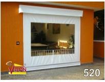 cortina rolo motorizada na Vila Anastácio