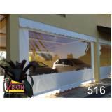 instalação de toldo de lona transparente na Santa Isabel