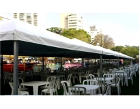 locação de cobertura para festas em Água Rasa