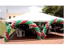 locação de tenda para festas Jardim Tupanci
