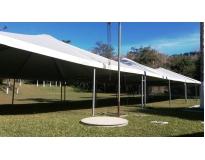 locação de tendas para casamento serviços em Belém