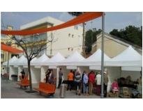 locação de tendas para eventos serviços na Vila Mariana