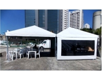 locação de tendas para eventos em Franco da Rocha