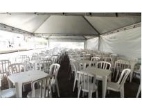 locação de tendas serviços no Campo Belo