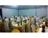 onde encontrar alugar tenda para casamento na Taboão