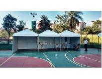 onde encontrar aluguel de tendas para festas no Capelinha