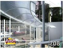 onde encontrar cobertura de policarbonato para corredor na Ponte Rasa