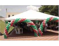 onde encontrar tendas para festa de casamento no Capelinha