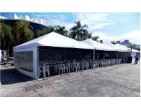 quanto custa alugar tenda na Vila Galvão