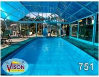 quanto custa cobertura em policarbonato para piscina no Jabaquara