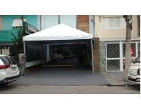 quanto custa locação de tendas em sp na Vila Prudente